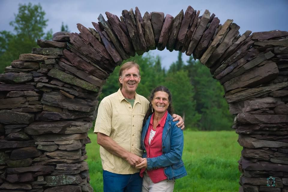 Owners, Sara and Bob open their home and their hearts to you on your special day.