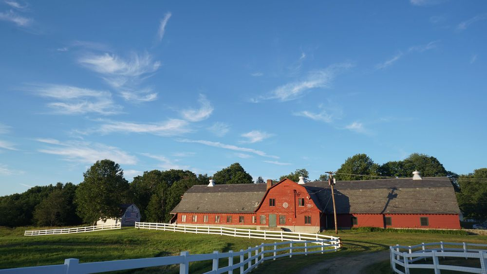 1925 renovated holstein dairy barn known as the Green Mountain Barn.