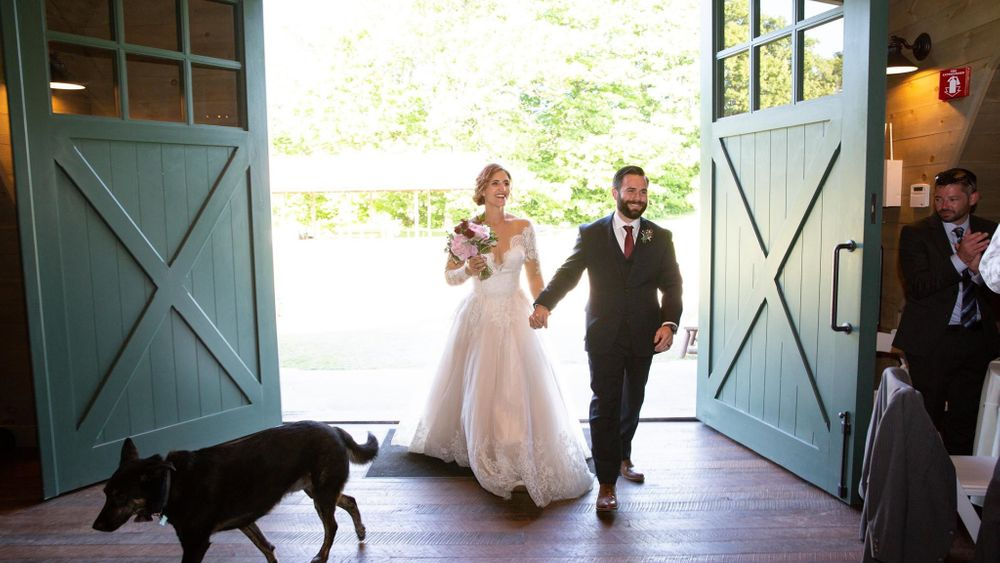 Entrance into Green Mountain Barn.  (Michelle Frehsee Photography)