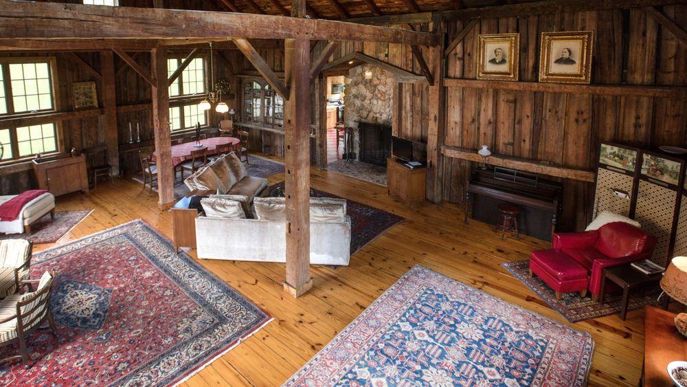 Barn configured for overnight home rental. (Victoria Boucher)