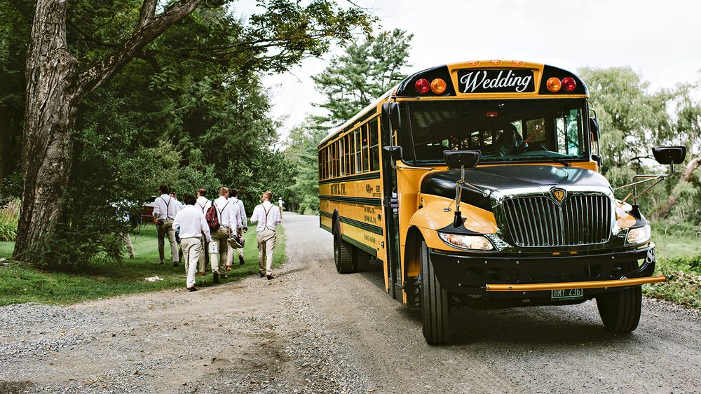 Shuttle transportation inspiration | photo credit: Undressed Moments- Intimate Wedding Photography