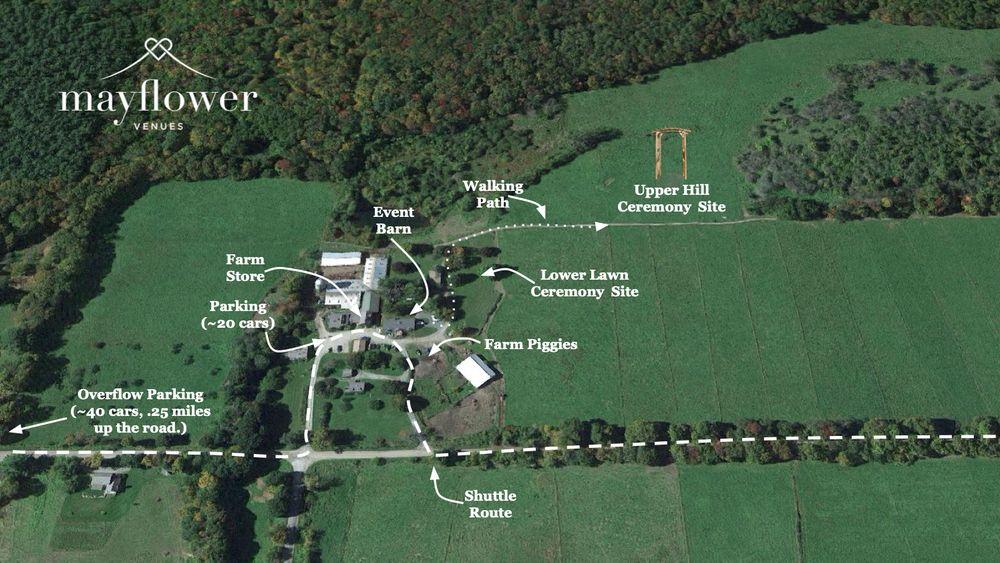 Venue Aerial Map.