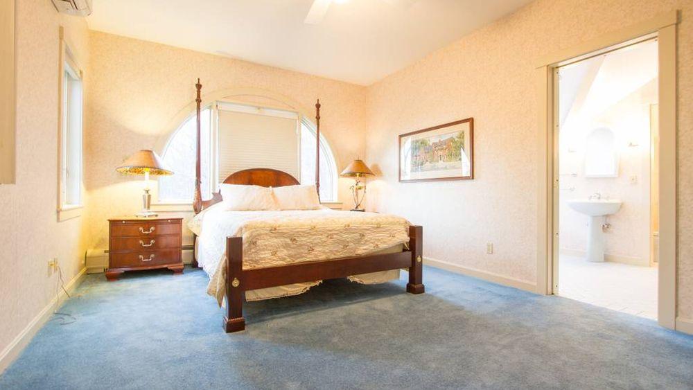 Bedroom #1 - Master bedroom on second floor. (queen bed)