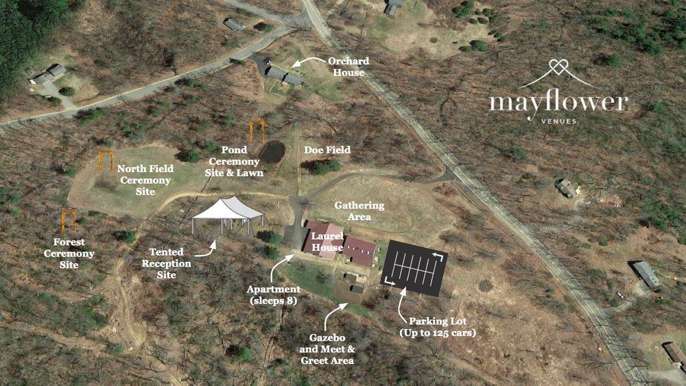 Aerial Venue Map