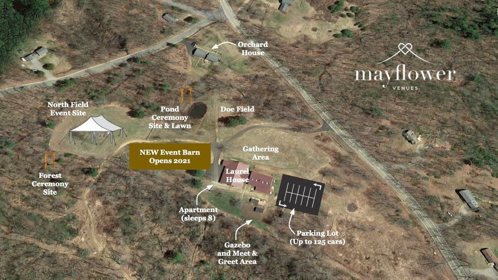 Aerial Map of Event Space
