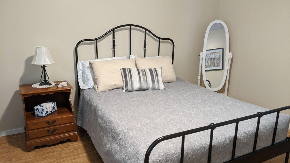 Second Bedroom:  Queen size Bed