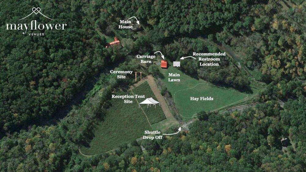 Venue / Event Aerial Map