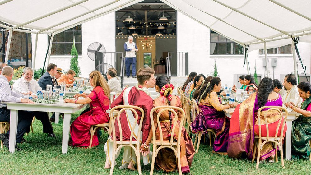 (Java Rose Photography) Caterer: Tower Indian Restaurant, Rentals: Greenhouse Picker Sisters
