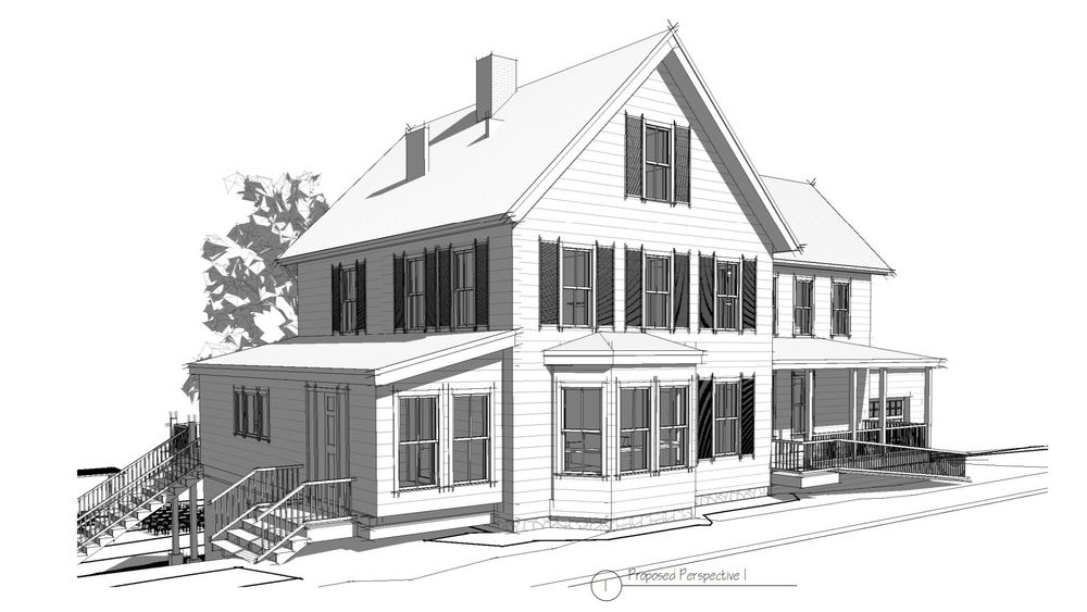Main street North Woodstock, NH just out your front door, Renovation done December 2020.