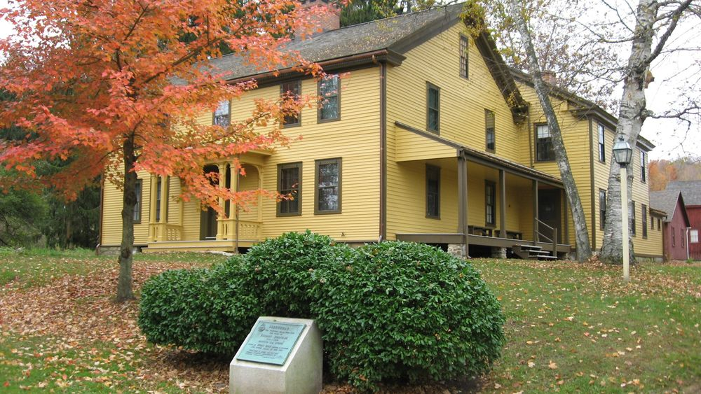 Arrowhead is a historic home where Herman Melville lived with his family from 1850-1863