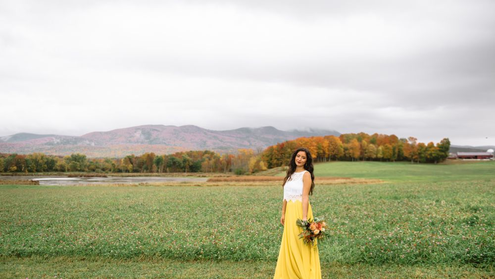 Photo session at the clover fields - photo credit: Mei Lin Barral Photography