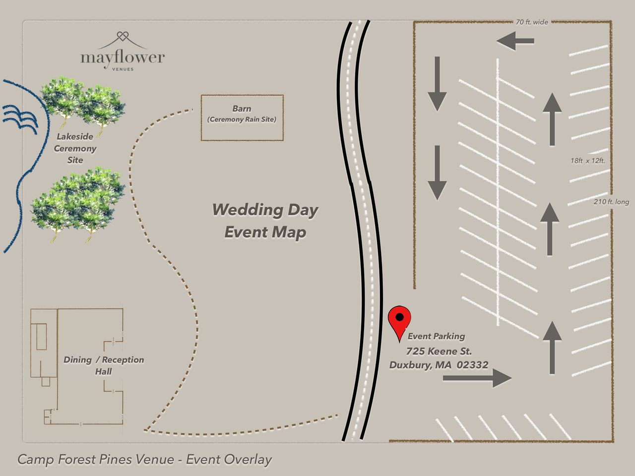 Wedding Day Event Map