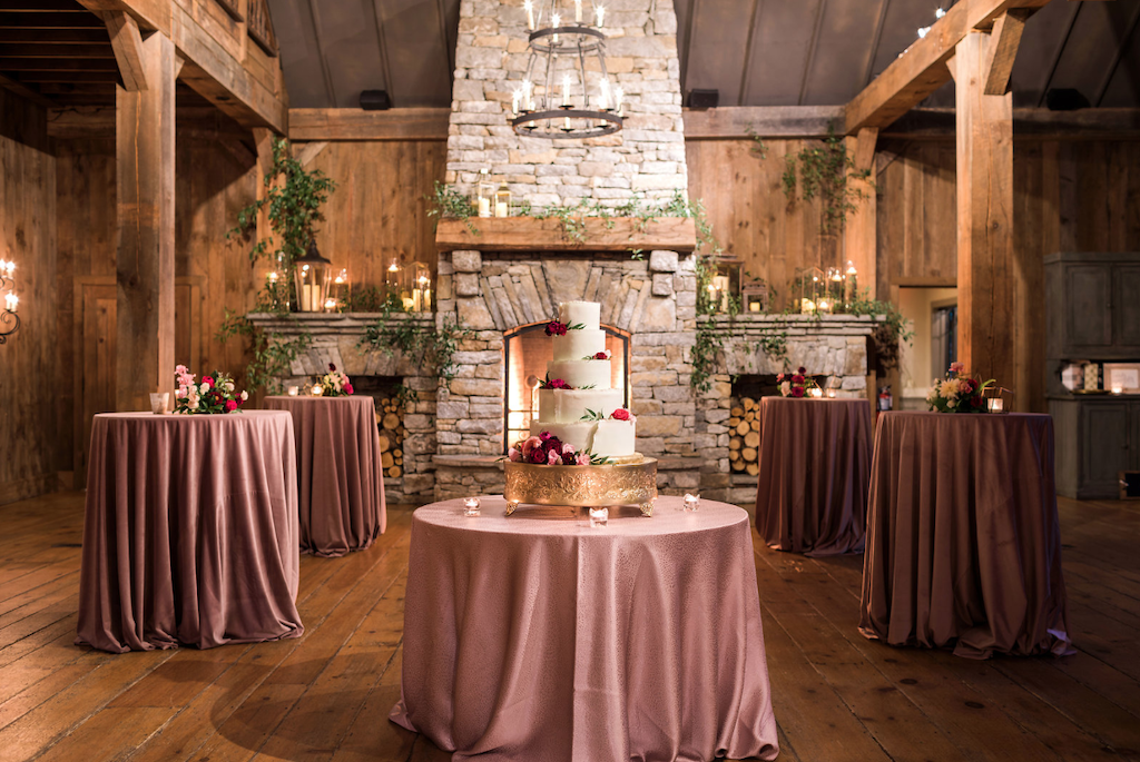 Fall Wedding Venue Scene
