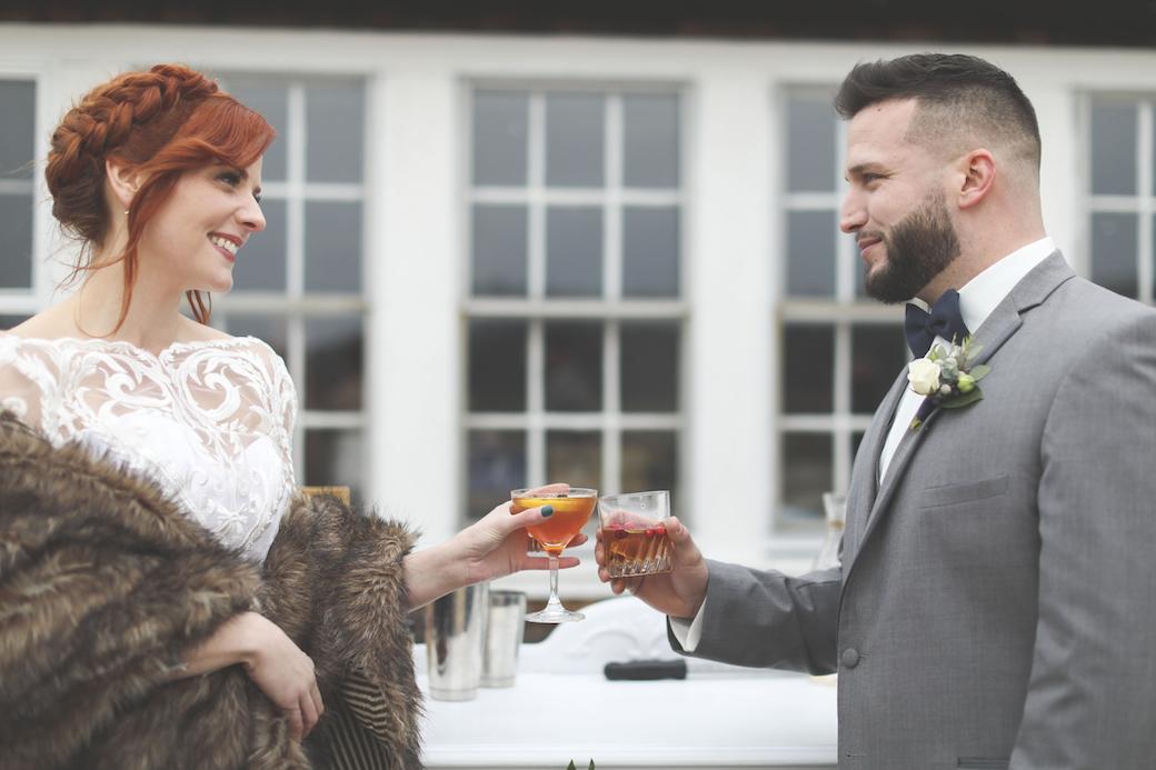 cranberry bog wedding cheers