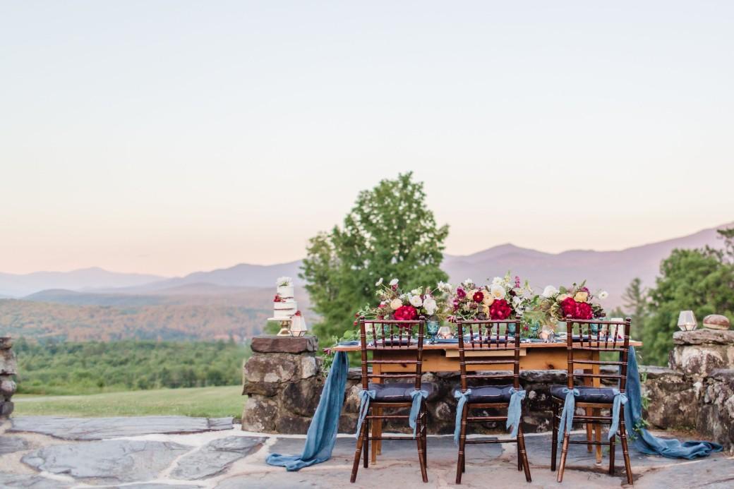 White Mountain Farmstead mountain wedding venue
