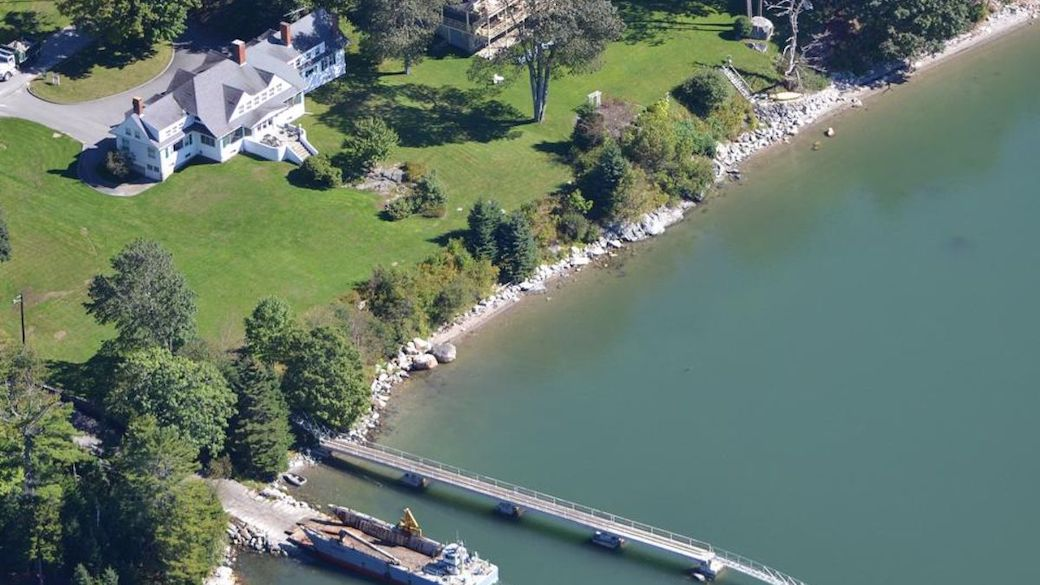 Top Five Maine Nontraditional Wedding Venues #2 - The Lawn on Frenchman Bay