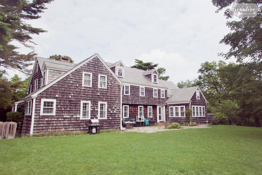 Outdoor Wedding Venues Near Boston - Bay Woods Homestead