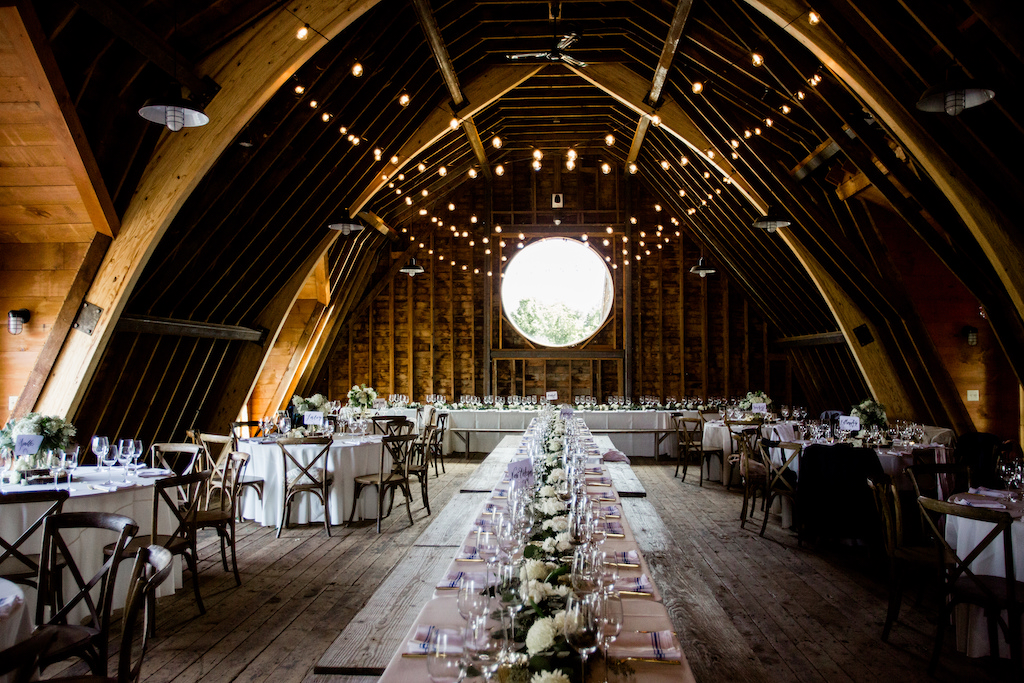 Five Best Barn Wedding Venues In New England