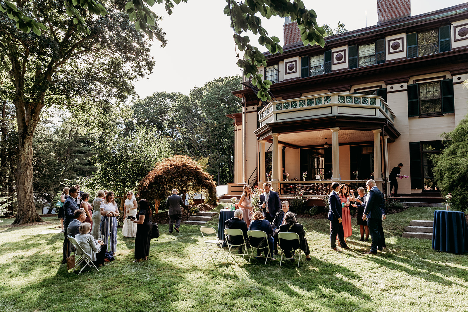 Outdoor Wedding Venues Near Boston- Forbes House Museum