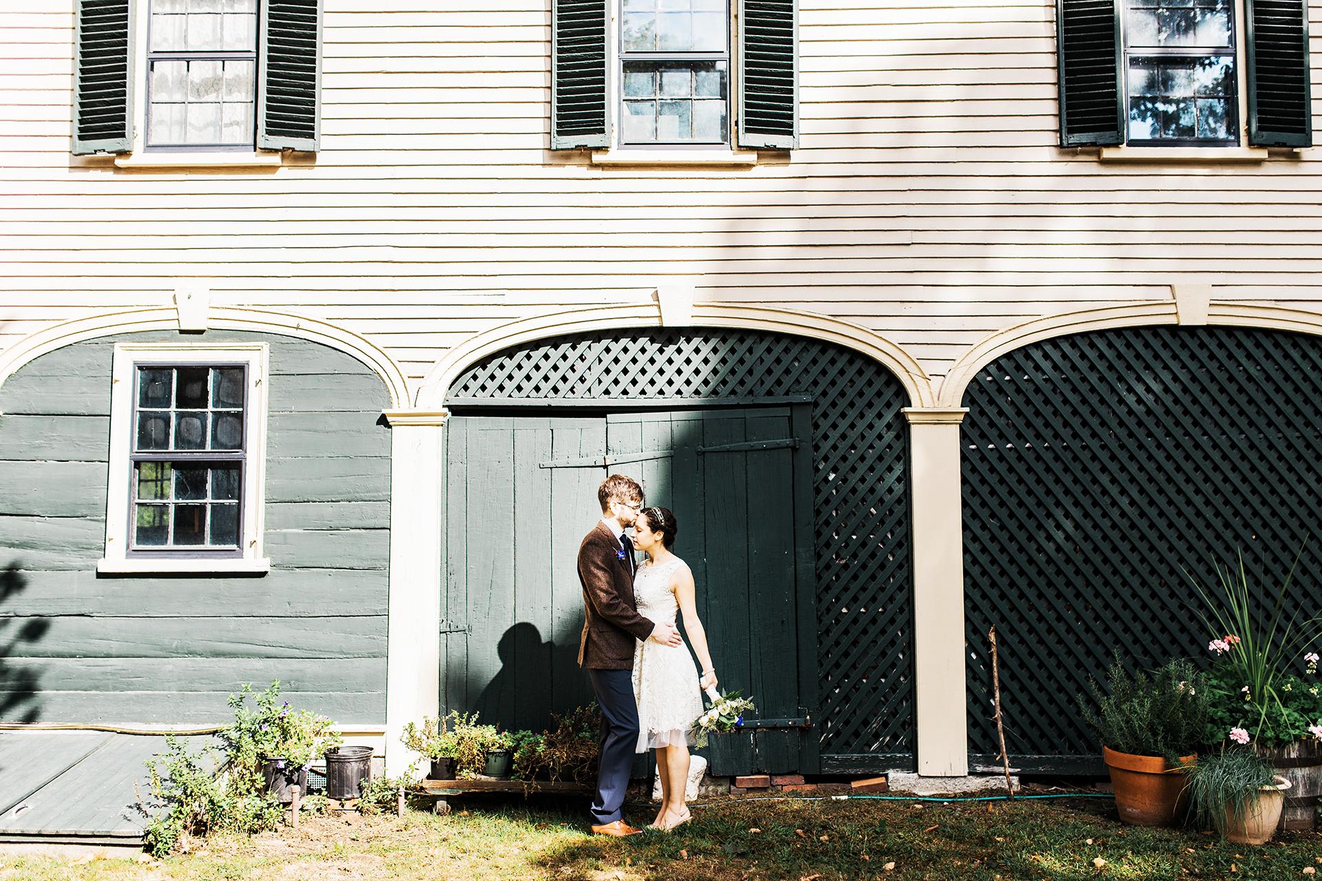 Outdoor Wedding Venues Near Boston - Loring Greenough House
