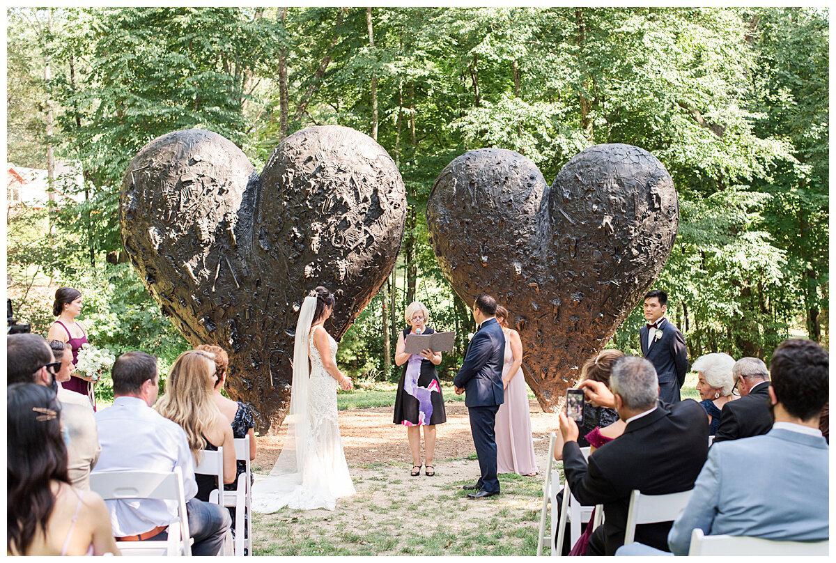 Outdoor Wedding Venues Near Boston - deCordova Sculpture Park and Museum