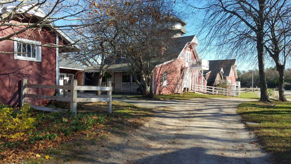 New England Barn and Equestrian Field